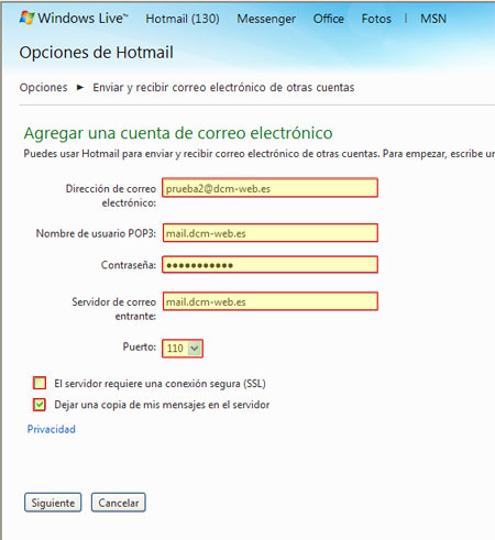 datos de formularios